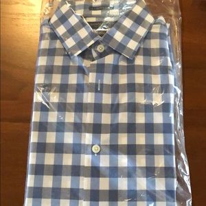Banana Republic camden fit shirt - supima cotton M